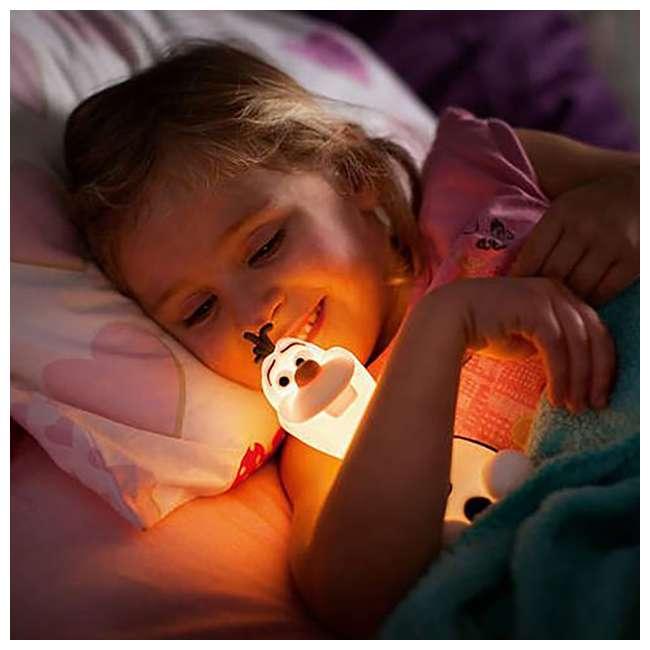 PLC-799965 + PLC-7176803U0 Philips Disney Frozen Olaf and Elsa Kids Soft Pals Nightlight Friend 5