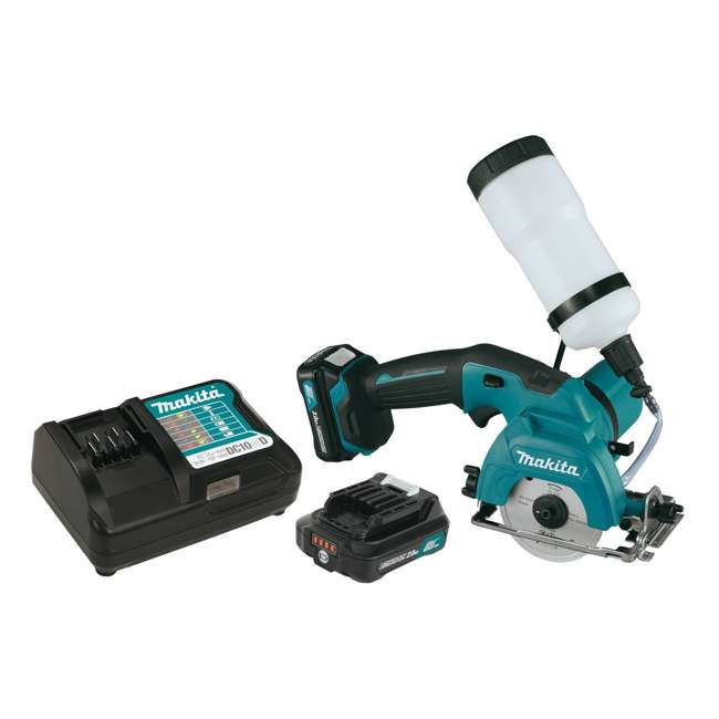 CC02R1 Makita 12-Volt CXT 3-3/8 Inch Tile Glass Saw Kit (2 Pack) 1