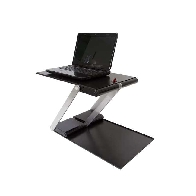 UD-01-BLA Supermoon Products Up2U Height Adjustable Desk, Black (2 Pack) 2