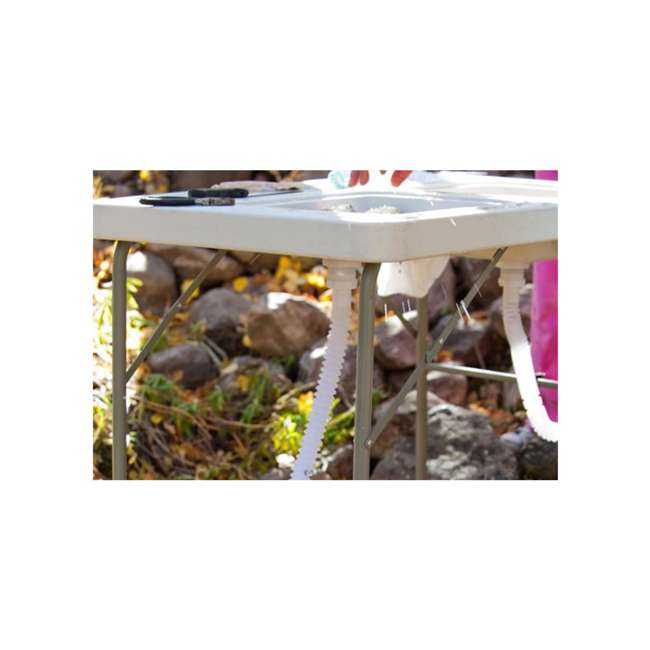 CCC-322 Coldcreek Outfitters Outdoor Washing Table and Sink for Camping, Fishing 3