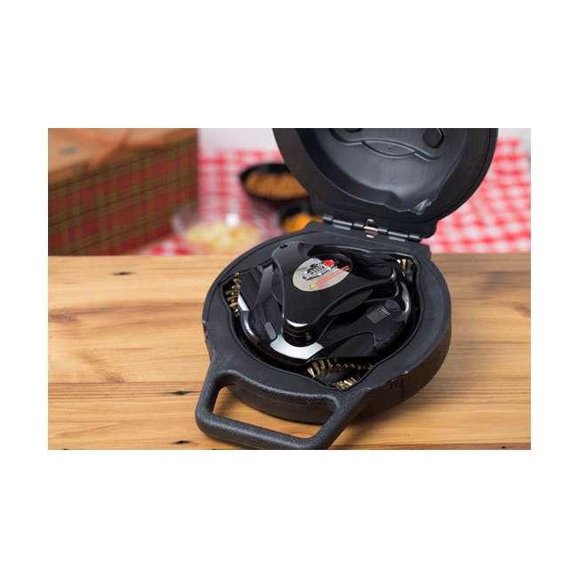 GBU:BUN3:BLACK Grillbot GBU:BUN3:BLACK Automatic Grill Cleaning Robot with Carry Case, Black 6