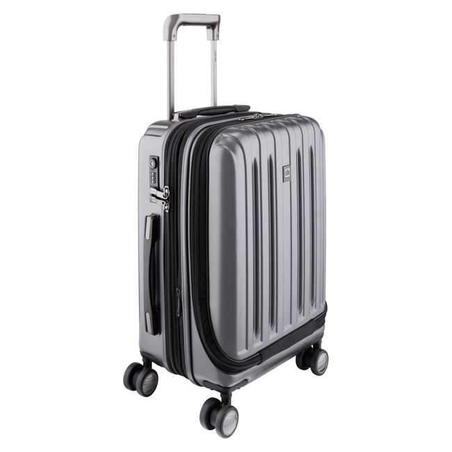 00207180101 Delsey Paris Titanium International Carry On Spinner Rolling Luggage Suitcase 1