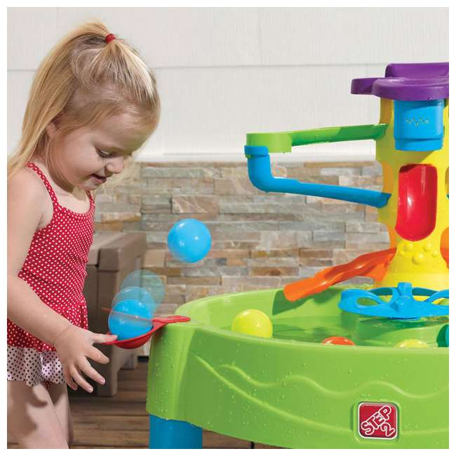 840000 Step2 Busy Ball Water Play Activity Table 2