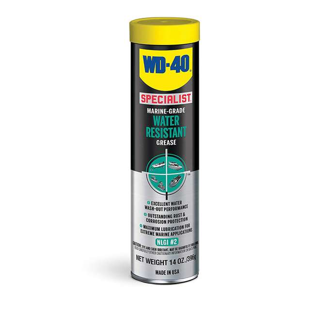10 x WD-300417 WD 40 Marine Water Resistant Grease, 14 Ounces(10 Pack) 1