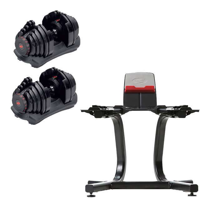 Bowflex Selecttech 1090 Adjustable Dumbbell Pair