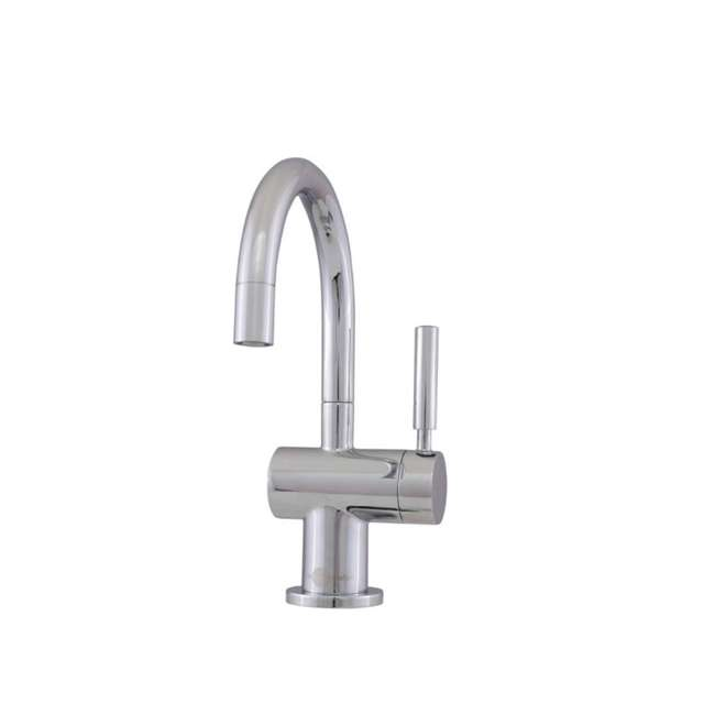 F-HC3300C-OB InSinkErator Indulge Modern Hot/Cold Water Faucet, Chrome (OPEN BOX)