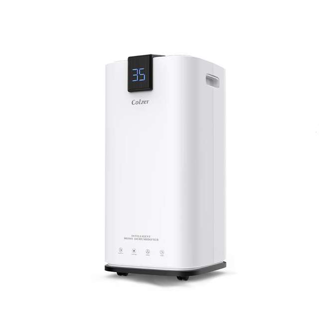PD123A Colzer PD123A 30 Pint 1500 Sq Ft Portable Home Room Basement Air Dehumidifier 1