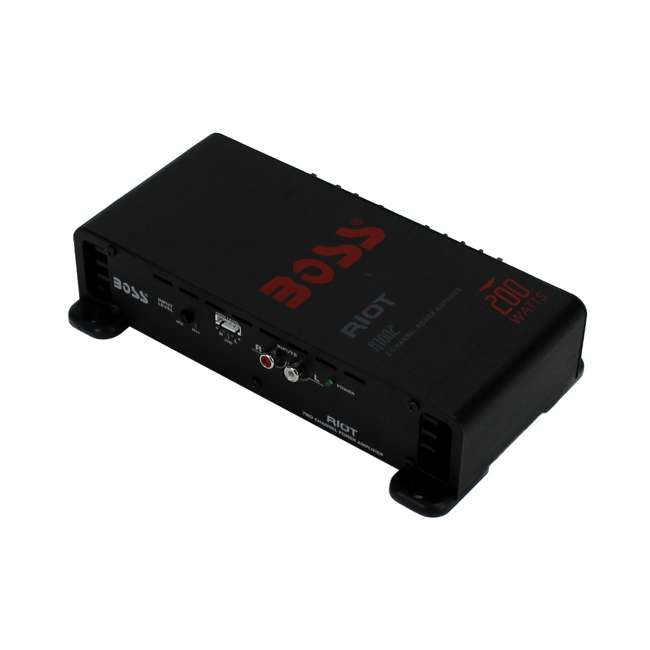 R1002 Boss Audio R1002 200W 2 Channel Car Amplifier 1