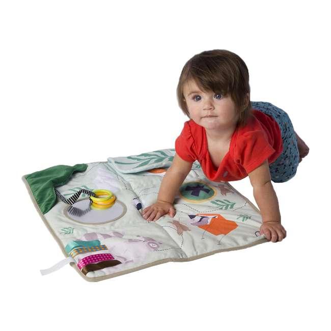 215530 Manhattan Toy Company Camp Acorn Sensory Baby Toy Activity Play Mat w/ Mirror 5