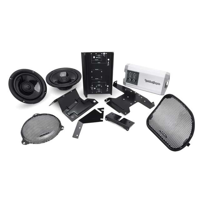 HD14-TKIT-OB Rockford Fosgate Harley Davidson Street & Road Glide Audio Kit (Open Box)