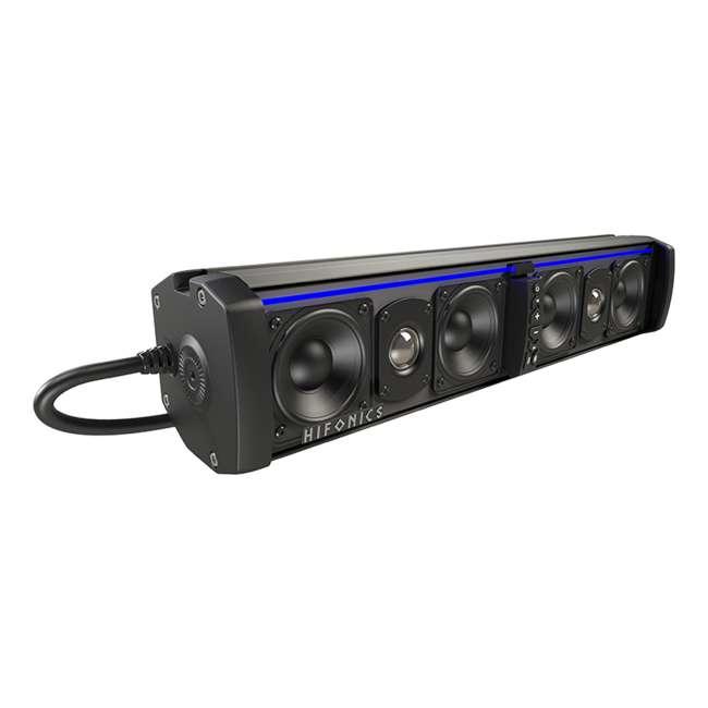 TPS6 Hifonics Thor Powered Bluetooth 6-Speaker Sound Bar w/ Integrated Amp