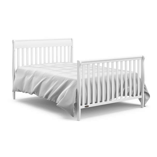 06711-300 + 04530-661 Graco Crib d Mattress & Graco Stanton 4-in-1 Convertible Crib 11