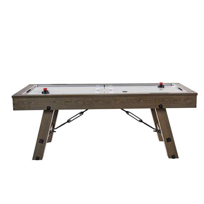 AWH084_108P-U-B Lancaster 84 Inch Air Powered Air Hockey Table with Game Accessories (Used) 7