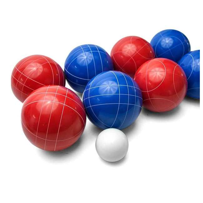 BOCCE-004 Classic 8-Ball 2-Color Backyard Bocce Ball Game Set 1