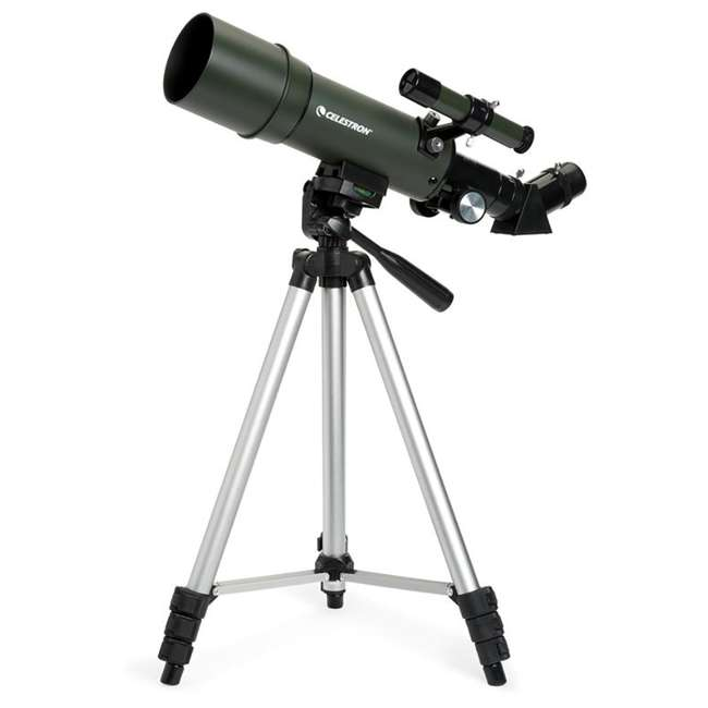 4 x 22005 [Copy 1] Celestron TravelScope 60AZ 60x 700mm Telescope, Silver (4 Pack) 3