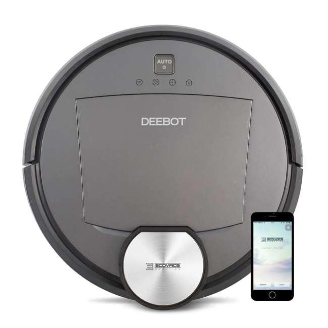DEEBOTR95-U-C Ecovacs DEEBOT R95 Multi-Floor Pet Cleanup Robotic Mop and Vacuum (For Parts) 11