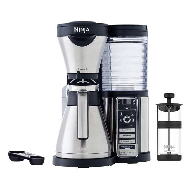 Ninja Coffee Maker Deals : Ninja Coffee Bar with Stainless Steel Carafe (Refurbished) : CF085REF-RB