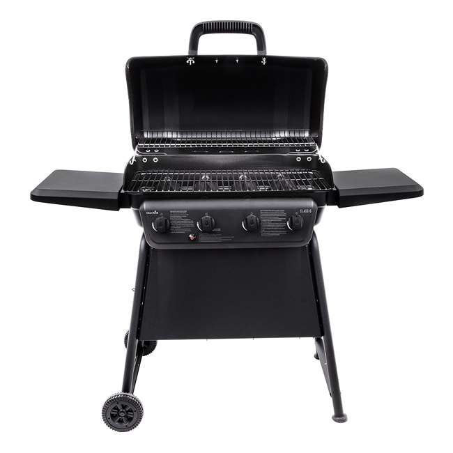 463874717-U-D Char-Broil Classic 4 Burner Backyard Barbecue Cooking Propane Gas Grill(Damaged) 3