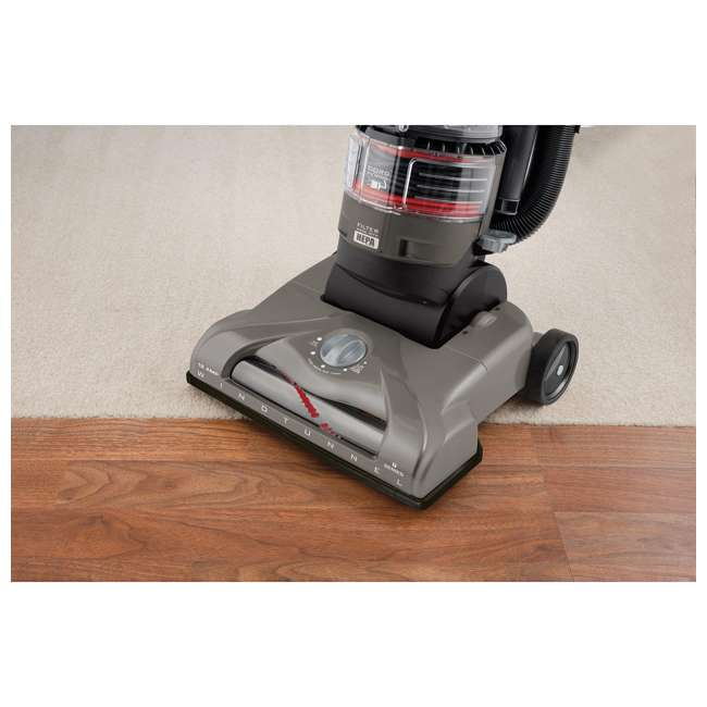 UH70121PC Hoover T-Series WindTunnel Rewind Plus Bagless Upright Vacuum  5