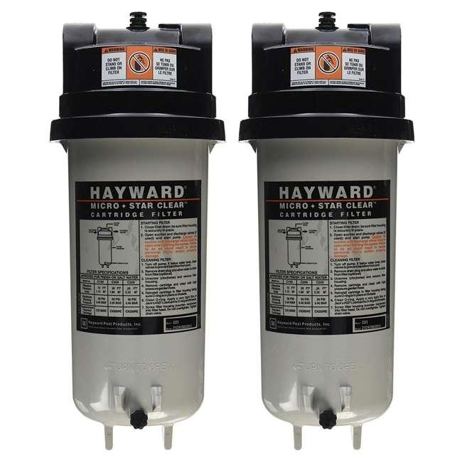 C225 Hayward C225 Swimming Pool Replacement Cartridge Filter (2 Pack)