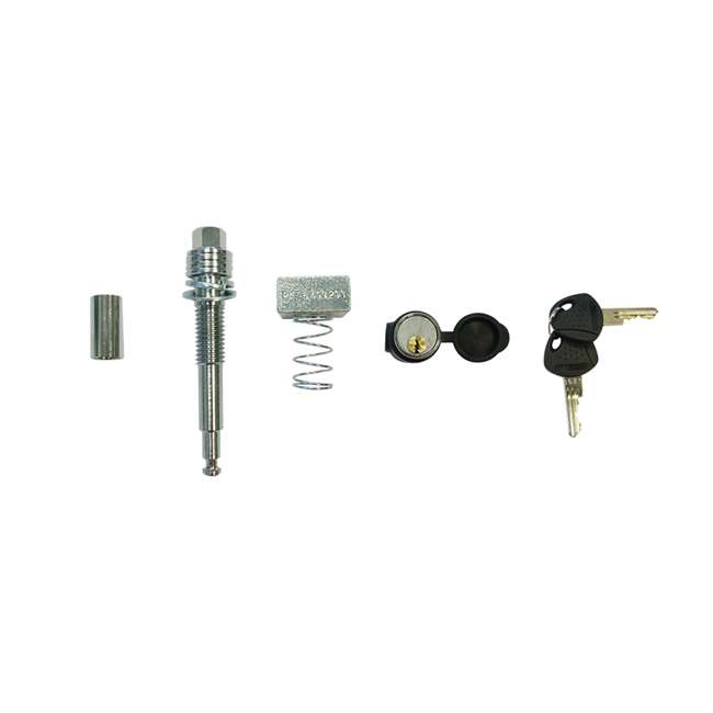 "DRAW-TITE-76028 + SHP2040 Draw Tite Class III/IV Receiver Trailer Hitch & Hitch Pin Locking for 2"" Hitches 9"
