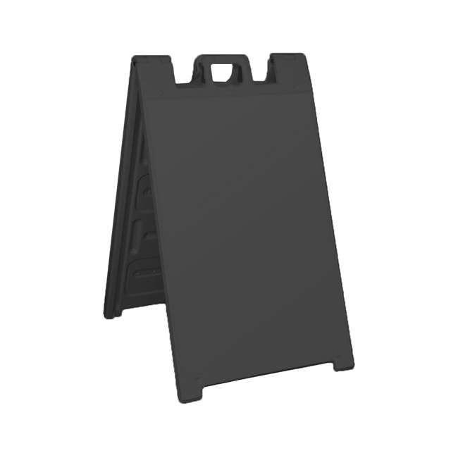 130NSBK-U-A Plasticade Signicade Portable Plastic A Frame Sidewalk Sign (Open Box) (2 Pack)