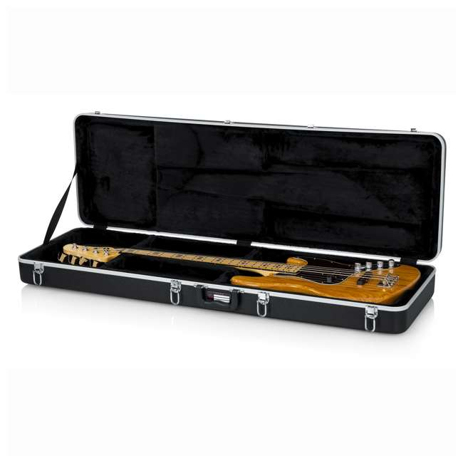 gator cases hard shell bass guitar travel case gc bass. Black Bedroom Furniture Sets. Home Design Ideas