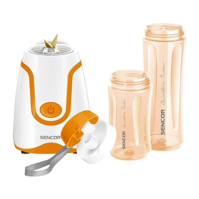 SBL2203OR-NAA1 Sencor SBL2203OR-NAA1 20 Ounce Handheld Blender with Stainless Steel Blades 1