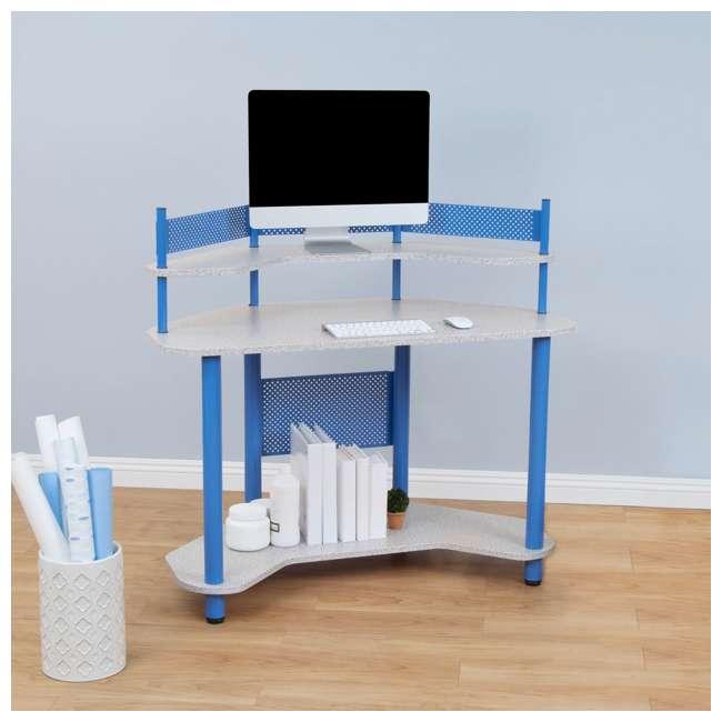 STDN-55120 Studio Designs Study Corner Desk, Blue (2 Pack) 4