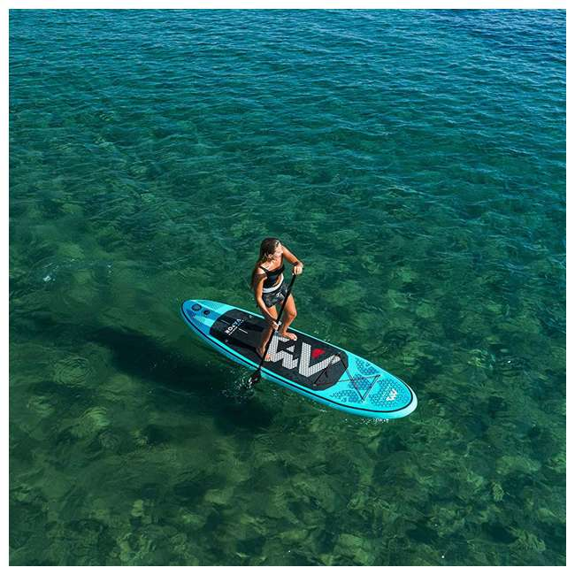 SUP-AM-PADDLEBOARD-VAPOR Aqua Marina Vapor 9.8 Foot Inflatable SUP Stand Up Paddle Board Kit with Pump 11