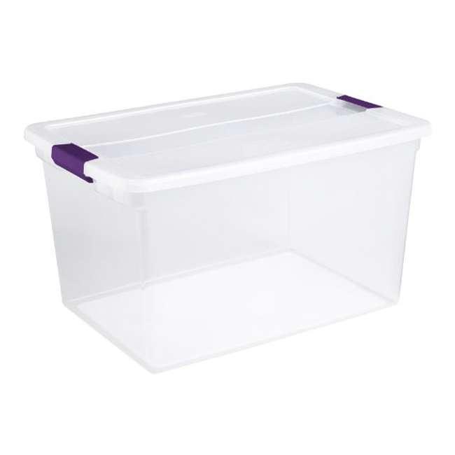42 x 17571706 Sterilite 66-Quart ClearView Latch Box | 17571706 (42 Pack) 2