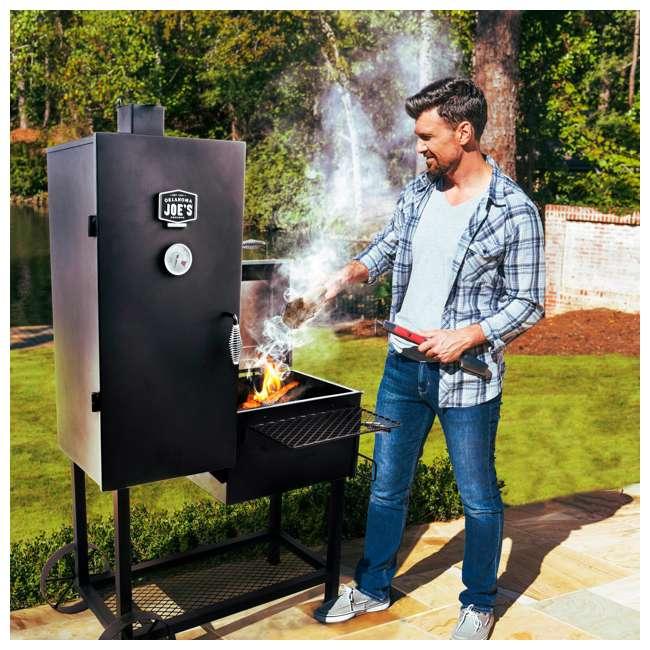 Backyard Bbq Okc: Oklahoma Joe's Bandera Vertical Offset Barbecue Smoker