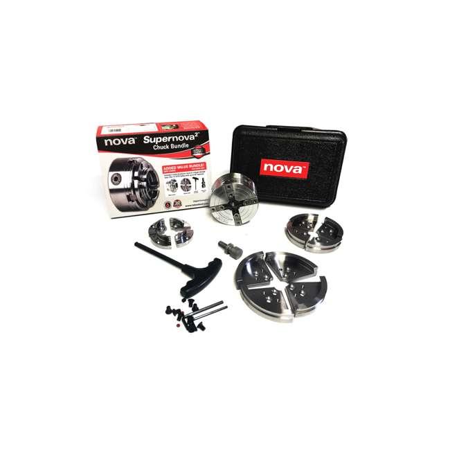 TK-23099 Nova TK-23099 Direct Thread 1 1/4 Inch Supernova2 Chuck Bundle Gifting Set