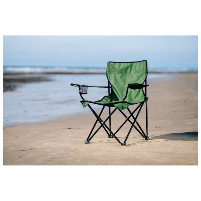 589CG TravelChair 589 C Series Rider Foldable Outdoor Camping Chair with Bag, Green 4