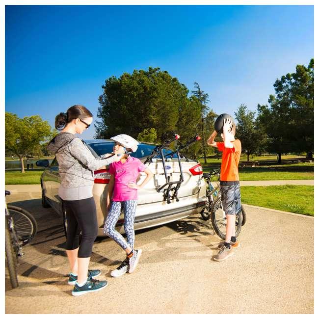 S5491 + 103DN-R Schwinn 700C Phocus 1600 Womens Drop Bar Road Bicycle & 3 Bike Car Trunk Rack 11