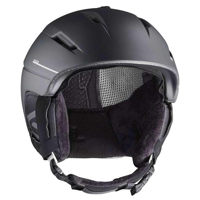 L40535400-M Salomon Ranger Square C Air MIPS Black Helmet, Medium 1