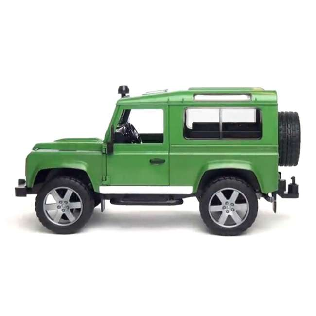 Bruder Toys Land Rover Defender With Trailer : 02593