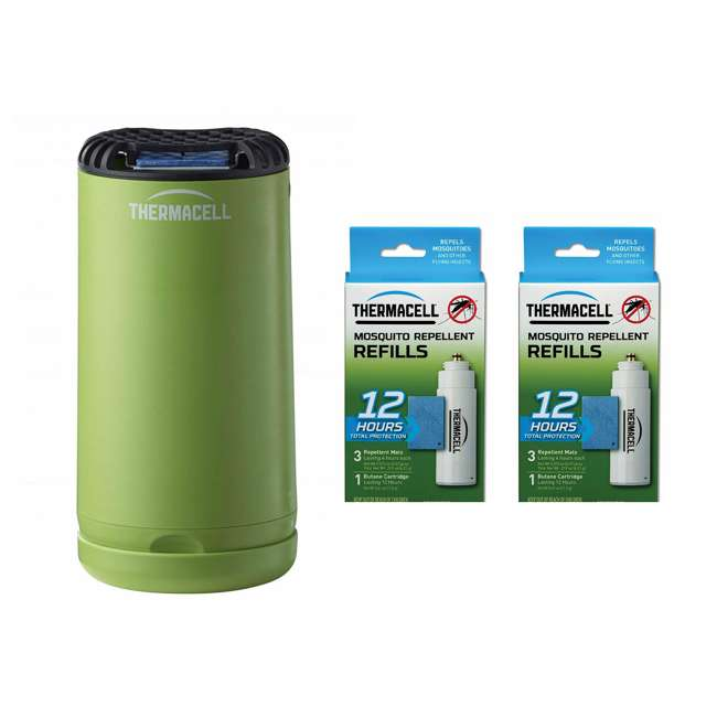 MRPSG Thermacell Outdoor Insect Repeller & 12-Hour Mosquito Repellent Refill (2 Pack)