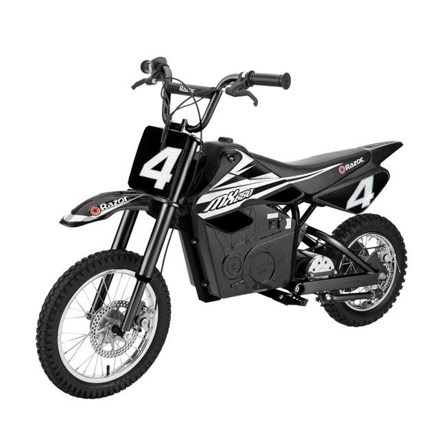 15165001 + 97778 Razor MX650 Electric Dirt Rocket Bike + Youth Helmet 1