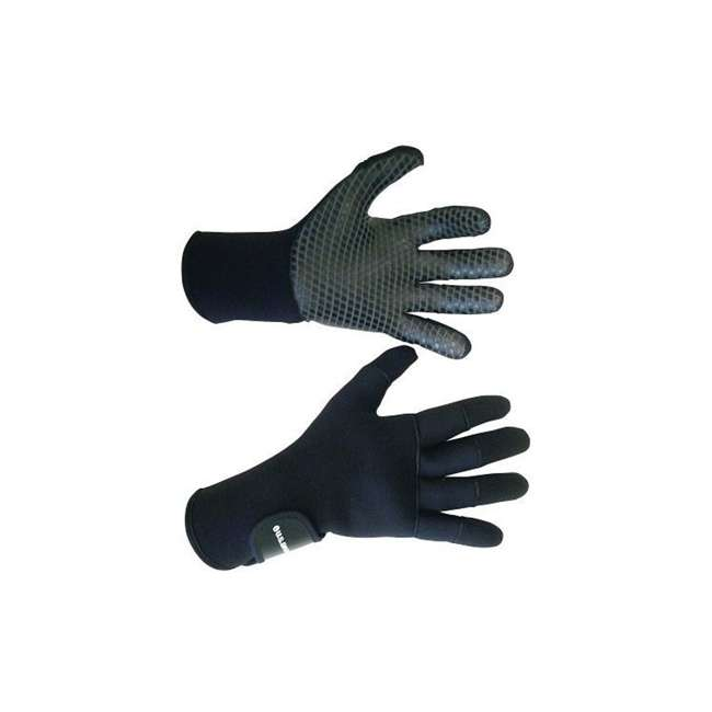 262265 U.S. Divers Medium Comfo Grip 3 mm Cold-Water Underwater Diving Gloves, Black