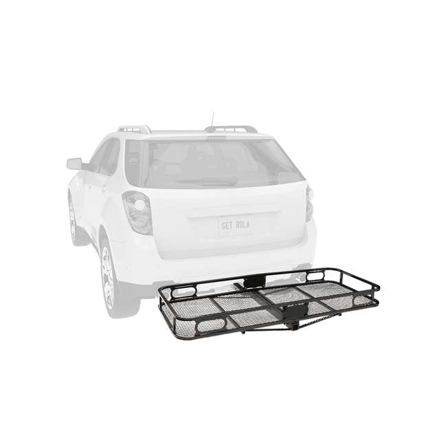 """PRO-SERIES-63153 + SHP2040 Pro Series Cargo Basket + 5/8"""" Silent Hitch Pin Press-On Lock for 2"""" Hitches 3"""