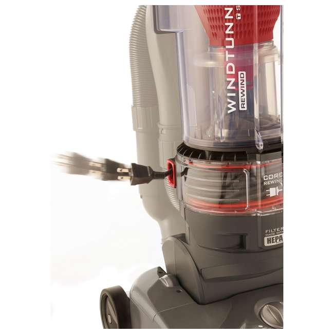 UH70121PC Hoover T-Series WindTunnel Rewind Plus Bagless Upright Vacuum  6