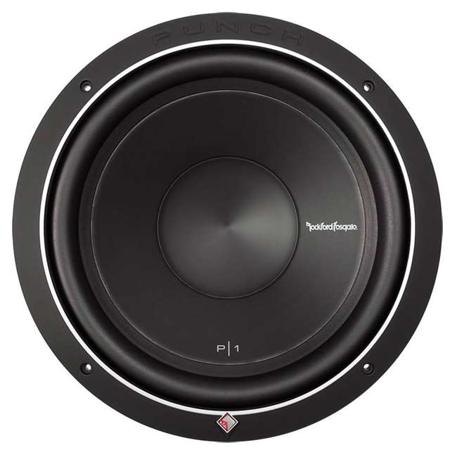 """P1S2-12 New ROCKFORD FOSGATE Punch P1S2-12 12"""" 500W 2-Ohm Power Car Audio Subwoofer Sub"""