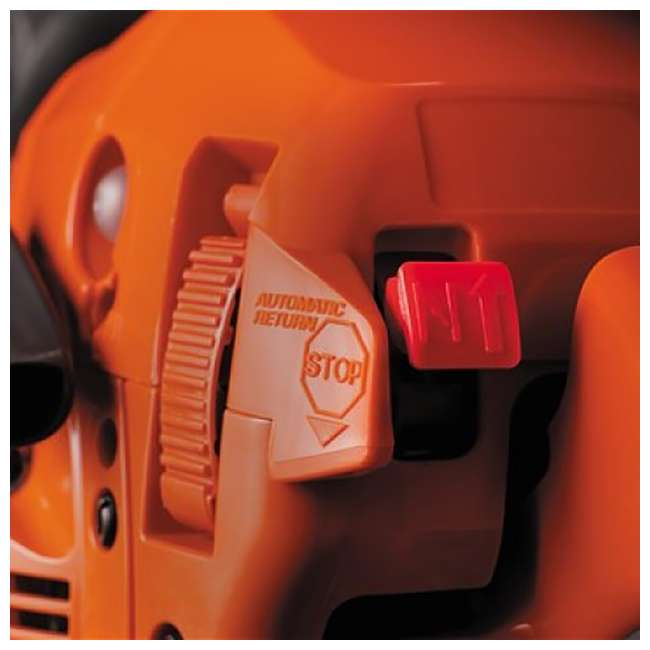 HV-CS-965030296 + HV-TOY-522771104 Husqvarna 445 Rancher 18-Inch Bar Chainsaw and 440 Toy Kids Chainsaw, Orange 4