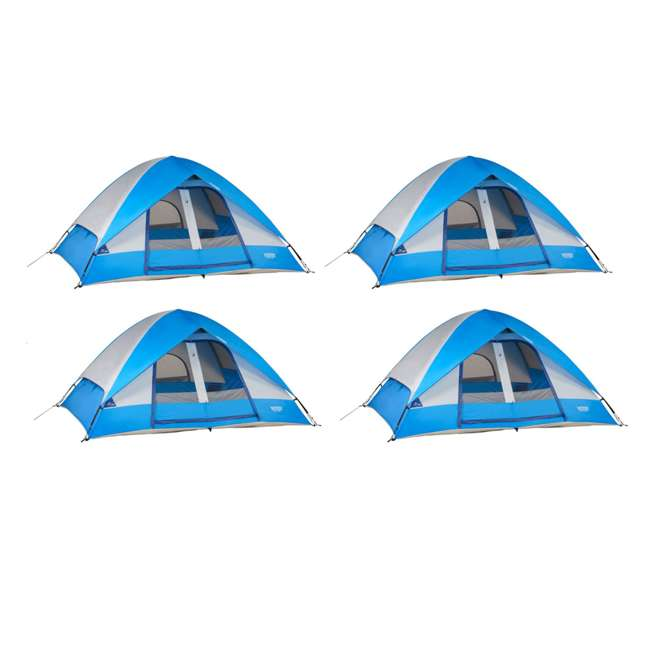 abc942cef4a 4 x 36497B Wenzel 10  x 8  Pine Ridge 5 Person Camping Tent