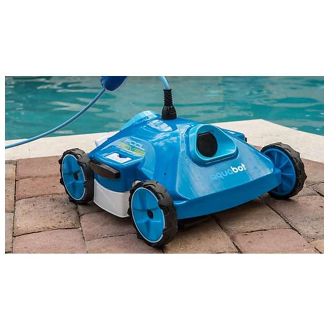 AJET121-OB Aquabot Pool Rover S2-40 Above Ground Robotic Swimming Pool Cleaner 1