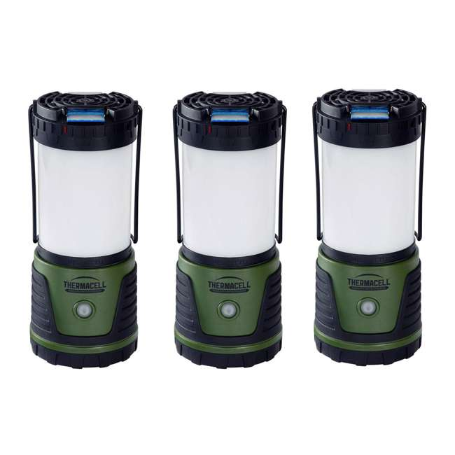 3 x MRCL Thermacell Trailblazer Mosquito Repeller Camp Lantern (3 Pack)
