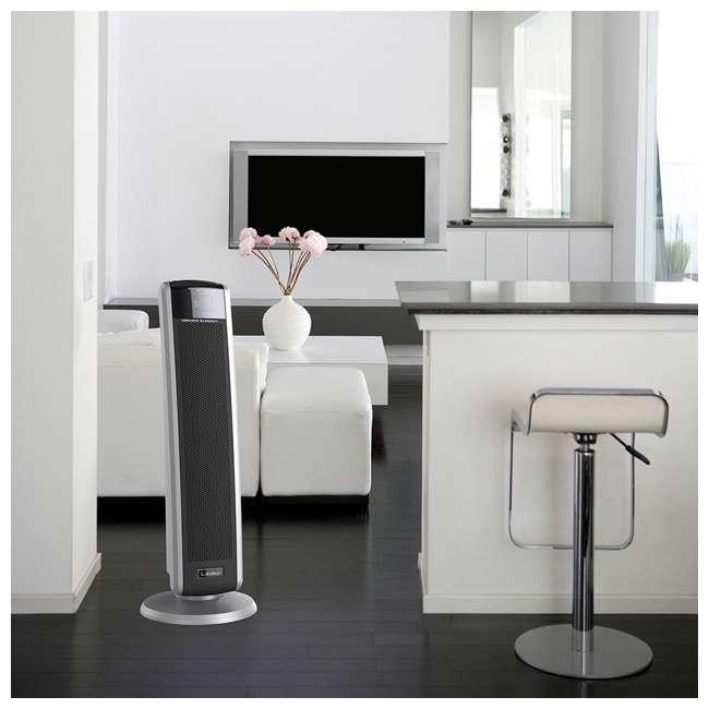 LKO-5586-TN Lasko 5586 Portable Electric 1500W Room Oscillating Ceramic Tower Space Heater 4