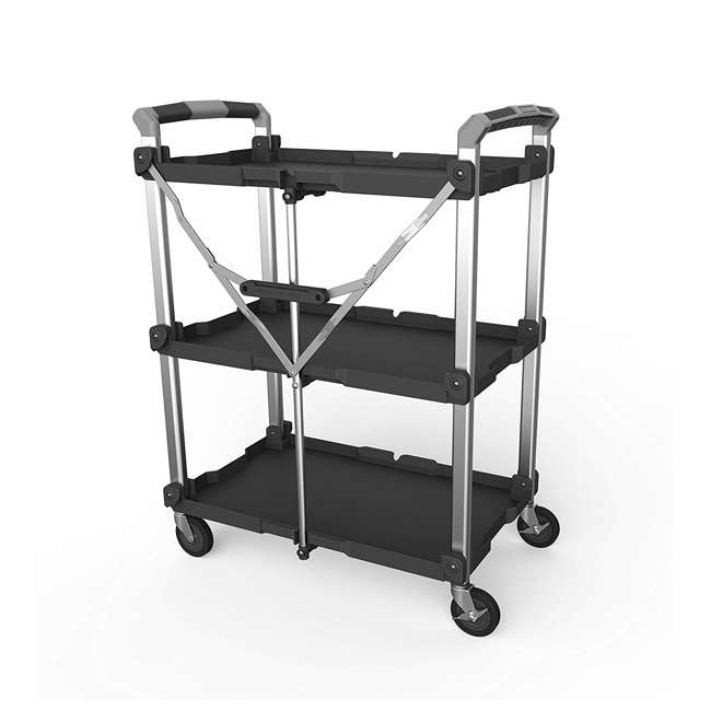 85-189 Olympia Tools 85-189 Pack n Roll XL Collapsible Storage Service Cart with Wheels 1