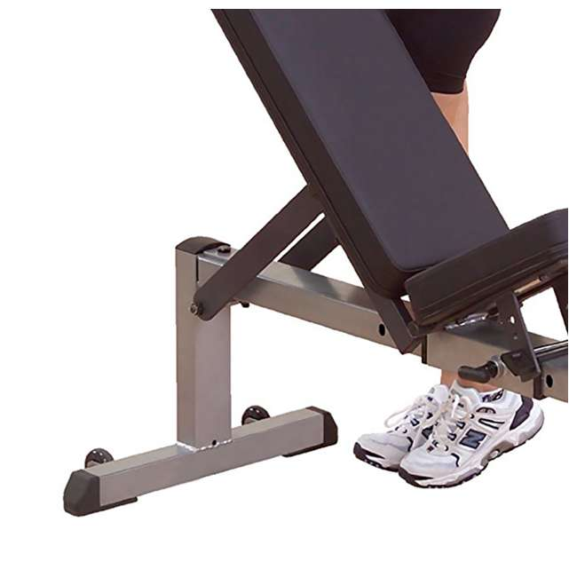 Body Solid Fitness Adjustable Flat To Incline Workout Bench Press Gfi21